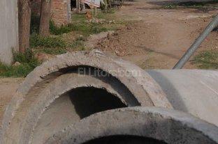 Licitan obras de mantenimiento de desag�es pluviales