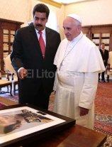El papa le pidi� a Maduro que dialogue con la oposici�n
