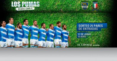 Diario El Litoral te invita a ver  Los Pumas en Santa Fe