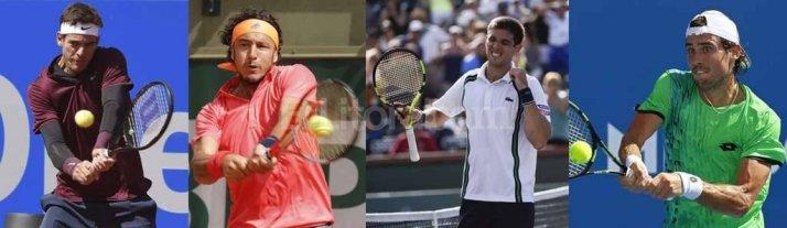 Del Potro, M�naco, Delbonis y Pella fueron citados para enfrentar a Italia por la Copa Davis