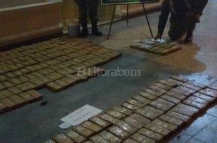 Importante secuestro de marihuana en Reconquista
