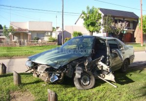 Accidente en San Justo