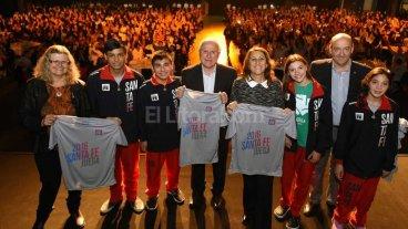Lifschitz salud� a los 730 atletas santafesinos