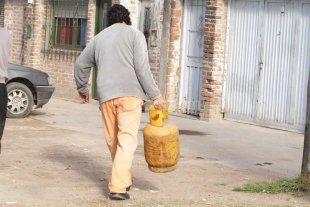 Venden garrafas de gas a precio diferencial