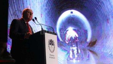 Lifschitz inaugur� obras para minimizar los riesgos de inundaciones