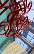 Enormes esculturas sonoras decorarán el Instituto de Música