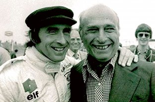 Jackie Stewart no quiso quedarse sin despedir a Fangio : : El Litoral -  Noticias - Santa Fe - Argentina - ellitoral.com : :