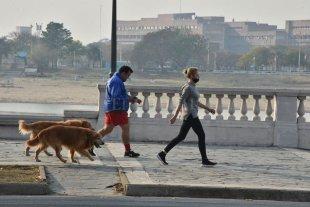 Martes fresco y parcialmente nublado en la ciudad de Santa Fe La máxima prevista es de 16°