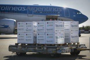 Llegaron este jueves 500 mil dosis de vacunas Sputnik V a Argentina Esta mañana