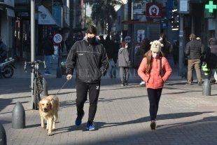 Jueves frío en la ciudad de Santa Fe 5° a las primeras horas de la mañana