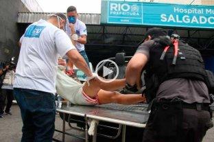 Video: enfrentamiento entre policías y narcos deja 23 muertos en una favela de Río de Janeiro Imágenes sensibles