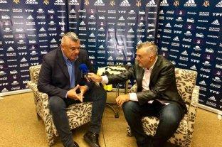 """Mensaje de Tapia y AFA a través de El Litoral: """"Festejen pero en casa"""" Es el máximo dirigente del fútbol argentino"""