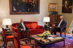 Alberto Fernández se reunió con el presidente de Portugal para reforzar su estrategia frente al FMI Primer día de su gira europea