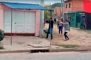 Domingo de furia en la ciudad de Santa Fe  con varios heridos Violencia