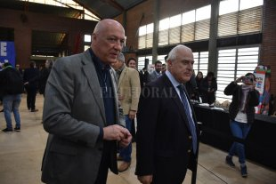 """Bonfatti: """"Hay que levantar la cabeza y seguir su ejemplo"""" El ex gobernador recordó a Lifschitz"""