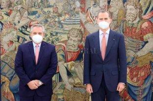 Fernández se reunió con el Rey Felipe VI y hará lo propio con el presidente Sánchez En España