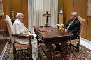 Alberto Fernández se reunió con el Papa Francisco La visita duró 30 minutos