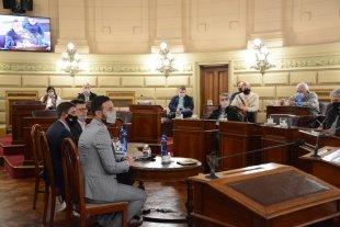 Casa Gris y Senado, en una velada de 2 rounds Reuniones con el ministro de Gobierno