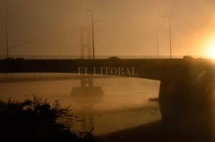 ¿Y el agua?: la niebla ocultó la Setúbal en Santa Fe Fenómeno similar en Rosario