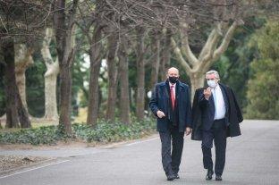 Perotti se reunió con Fernández En Olivos