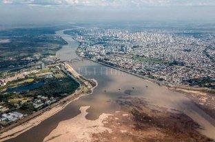 El Río Paraná llegó a 58 cm en Santa Fe y seguirá en descenso Bajante histórica