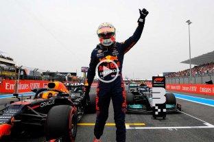 """Verstappen y una ajustada """"pole"""" ante Hamilton en el GP de Francia F1"""