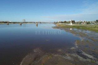 El Río Paraná volvió a bajar y marcó récord en la ciudad de Santa Fe 50 cm en el puerto local