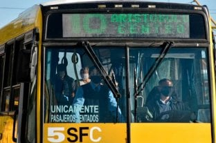 Asaltan a colectivero y  a varios pasajeros Inseguridad en Santa Fe