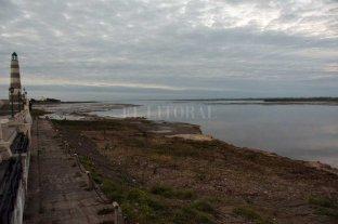 Descendió el Río Paraná en Santa Fe y Argentina negocia para liberar caudales en represas Bajante histórica