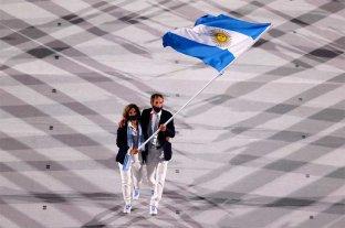 Video: así fue el ingreso de Argentina a la ceremonia inaugural de los Juegos Olímpicos Tokio 2020