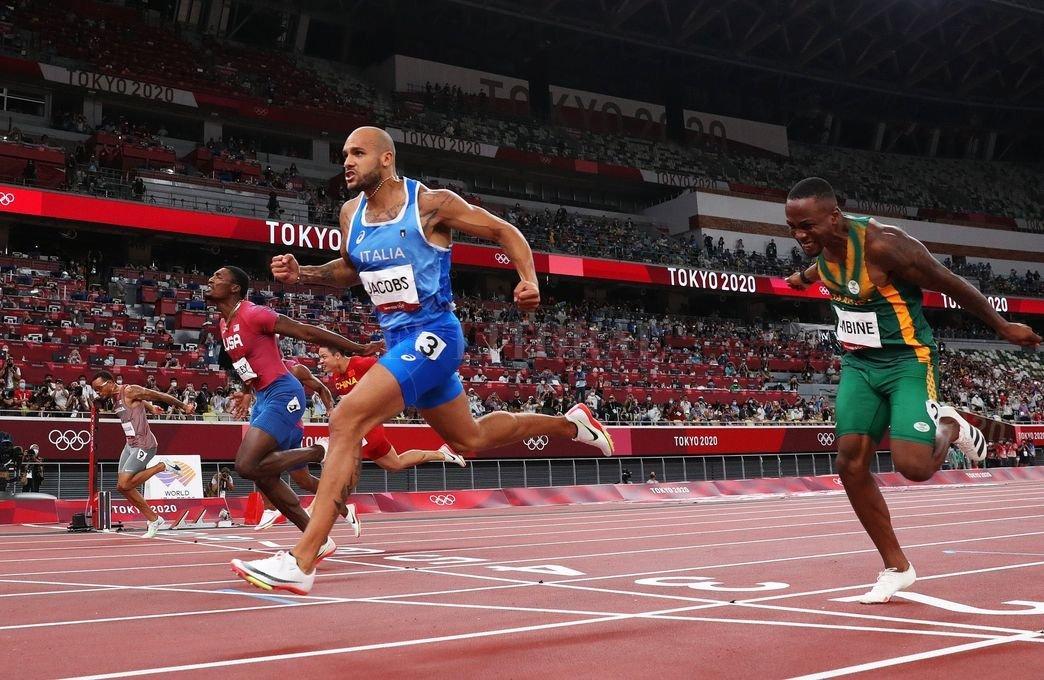 Lamont Marcell Jacobs medalla de oro en los 100 metros llanos : : El  Litoral - Noticias - Santa Fe - Argentina - ellitoral.com : :
