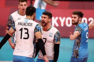 Histórica victoria de Argentina ante Italia para meterse en las semifinales de Tokio 2020 Vóley