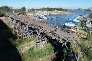 El viejo Puente Palito se cae a pedazos y es un peligro para los navegantes y residentes de la zona En el acceso a la isla de Alto Verde