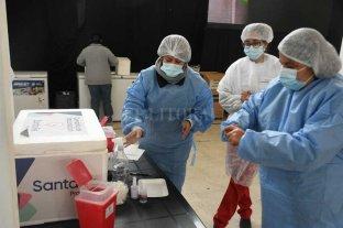 Colocan 4500 segundas dosis de Astrazeneca en la ciudad de Santa Fe Vacunación anti Covid