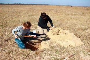 Hallaron restos arqueológicos en el margen Este de la Laguna Setúbal Analizan el material