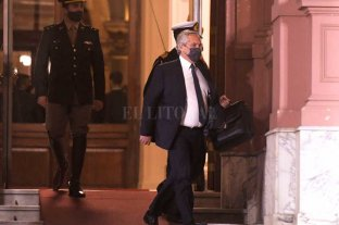 Fernández aún no aceptó ninguna renuncia Crisis en el gobierno