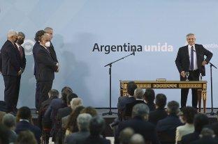 Juraron los nuevos miembros del Gabinete de Alberto Fernández  En la Casa Rosada