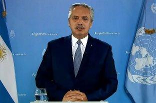 """Ante la ONU, Alberto Fernández criticó al FMI y habló de un """"deudicidio""""  Discurso grabado"""