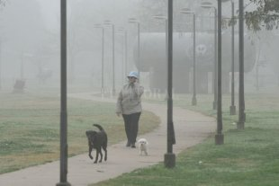 Jueves fresco y con niebla en la ciudad de Santa Fe Máxima de 23°