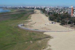"""El Paraná desciende """"despacito"""" en Santa Fe: qué se espera para los próximos meses Bajante histórica"""