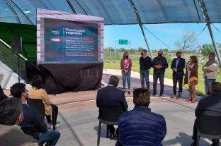 Firman los convenios para refaccionar los accesos a la ciudad de Santa Fe Perotti con Katopodis