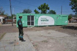 Para erradicar microbasurales, se instala una terminal verde en el barrio Arenales de la ciudad de Santa Fe Mejoras en las condiciones ambientales