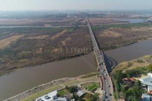 """Perotti: """"El puente Santa Fe-Santo Tomé es una prioridad"""" Gestiones para incorporarlo al Presupuesto nacional"""