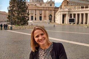 """La santafesina que """"rastrea"""" historias de vida y tramita ciudadanías italianas Valeria Fornari"""
