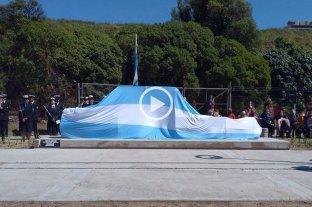 Video: quedó emplazado el memorial a las víctimas del ARA San Juan en Mar del Plata Homenaje