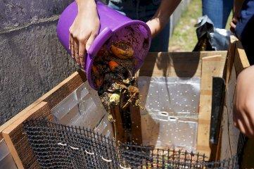 A través del compostaje, los alumnos de la Escuela Cristo Obrero cuidan el ambiente Educación ambiental