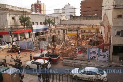 Demolicion de la casa Tons