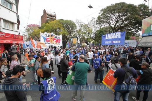 Marcha y protesta social por el paro nacional