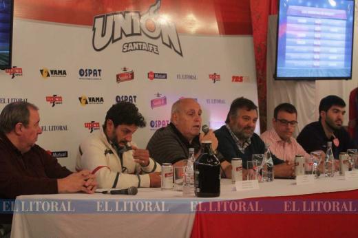 Básquetbol. Presentación de Unión para la Liga Argentina 2018/19