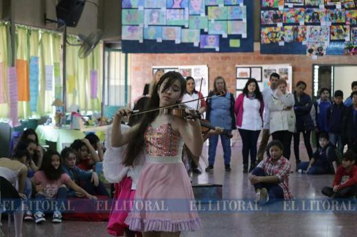 9º Encuentro de Niños Creativos en la Escuela 139, Jorge Stephenson, de Santa Fe
